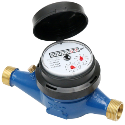 Multi jet dry type water meter  (Itron type)