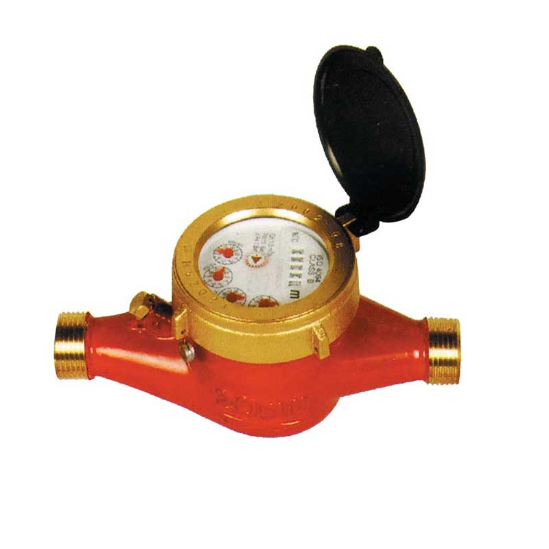 Multi jet dry type water meter ( hot water meter)