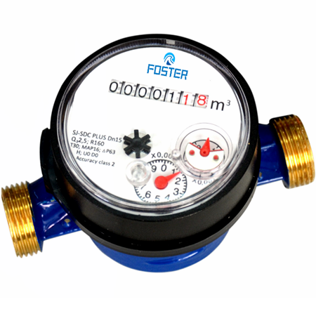 Single jet water meter Class C/R160