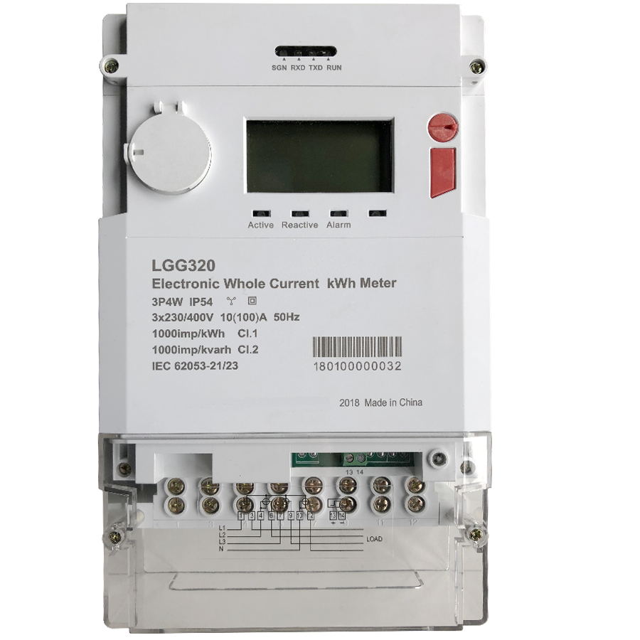 Three Phase Anti-Tamper Energy Meter