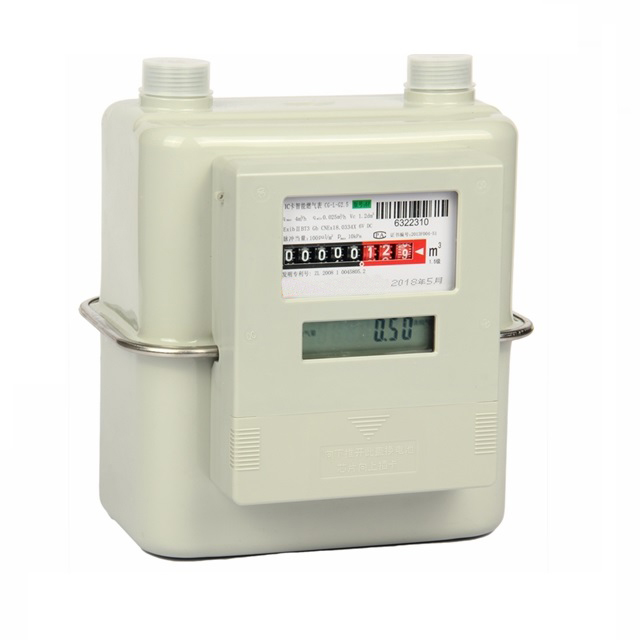 Classic domestic diaphragm natural gas meter (wireless IoT)