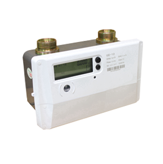 Ultrasonic industrial gas meter with AMR